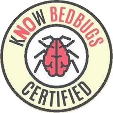 KnowBedBugs Certified Logo